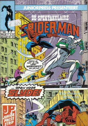 Spectaculaire Spiderman 77