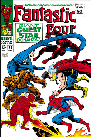 Fantastic Four Vol 1 73