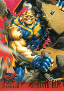 Guido Carosella (Earth-616) from Ultra X-Men (Trading Cards) 1995 Set 0001