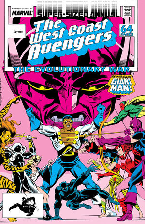 West Coast Avengers Annual Vol 1 3