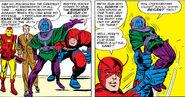 Nathaniel Richards (Kang) (Earth-6311) vs Avengers (Earth-616) from Avengers Vol 1 8 0001