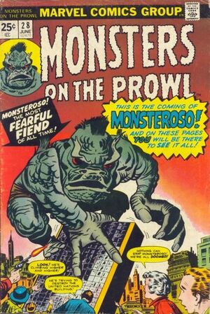Monsters on the Prowl Vol 1 28