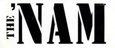The Nam comic logo
