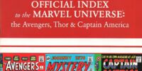 Avengers, Thor & Captain America: Official Index to the Marvel Universe Vol 1