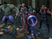 Avengers (Earth-TRN258) from Marvel Heroes (video game) 001