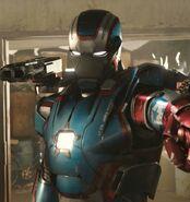 James Rhodes (Earth-199999) as Iron Patriot 001
