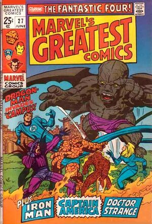 Marvel's Greatest Comics Vol 1 27
