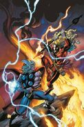 Mighty Avengers Vol 2 2 Thor Battle Variant Textless