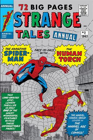 Strange Tales Annual Vol 1 2