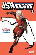 U.S.Avengers Vol 1 1 Florida Variant