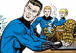 Fantastic Four (Earth-77013) Spider-Man Newspaper Strips