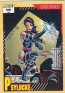 Elizabeth Braddock (Earth-616) from Marvel Universe Cards Series II 0001