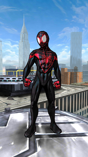 Miles Morales (Earth-TRN494) from Spider-Man Unlimited (video game)