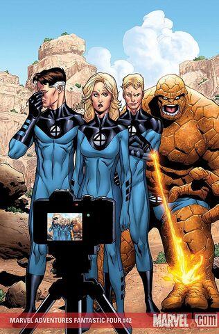File:Marvel Adventures Fantastic Four Vol 1 42 Textless.jpg