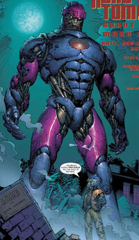 Rover (Sentinel) (Earth-15104) from New X-Men Vol 1 151 0001