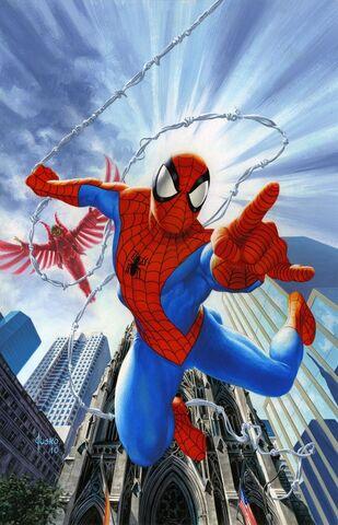 File:Amazing Spider-Man Vol 1 623 Jusko Variant Textless.jpg