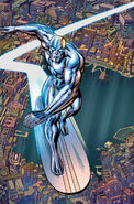 Silver Surfer Vol 8 14 Kirby 100th Anniversary Variant Textless