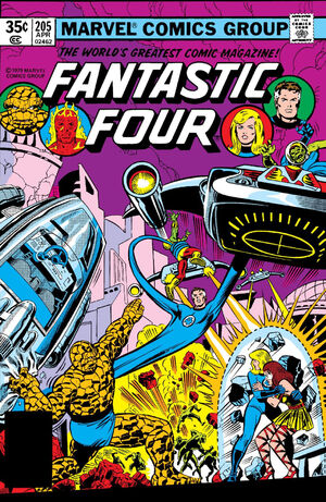 Fantastic Four Vol 1 205