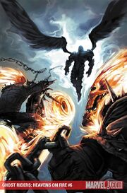 Ghost Riders Heaven's on Fire Vol 1 6 Textless