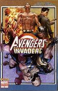 Avengers Invaders Vol 1 6 Coipel Variant