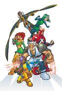 Marvel Mangaverse X-Men Vol 1 1 Textless