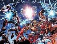 Avengers Vol 5 44 Wraparound Textless