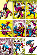 Steve Rogers (Earth-616) Captain America versus Batroc the Leaper from Tales of Suspense Vol 1 85