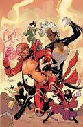 X-Men Vol 4 5 Dodson Variant Textless
