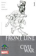 Civil War Front Line Vol 1 1 Wizard World Chicago Variant