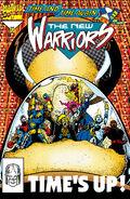 New Warriors Vol 1 50