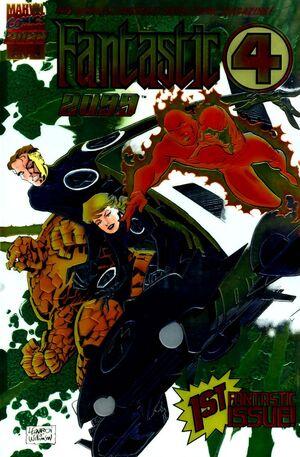 Fantastic Four 2099 Vol 1 1