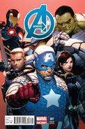 Avengers Vol 5 1 McNiven Variant