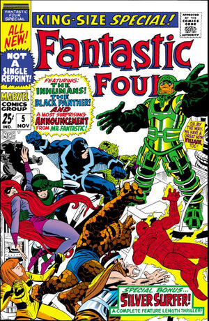 Fantastic Four Annual Vol 1 5