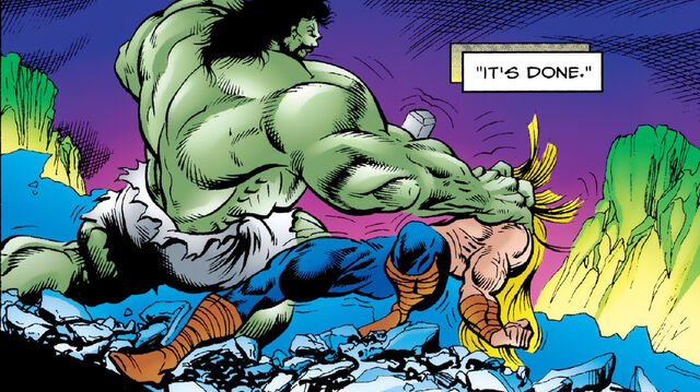 File:Bruce Banner (Earth-616) and Thor Odinson (Earth-616) from Incredible Hulk Vol 1 440 0001.jpg