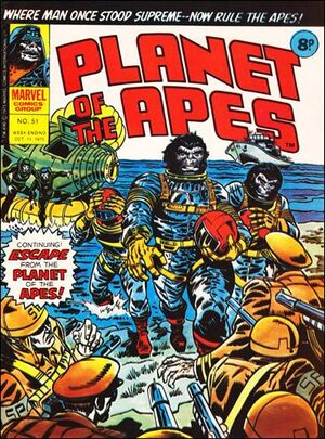 Planet of the Apes (UK) Vol 1 51