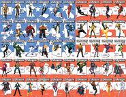 U.S.Avengers Vol 1 1 50 State Variants