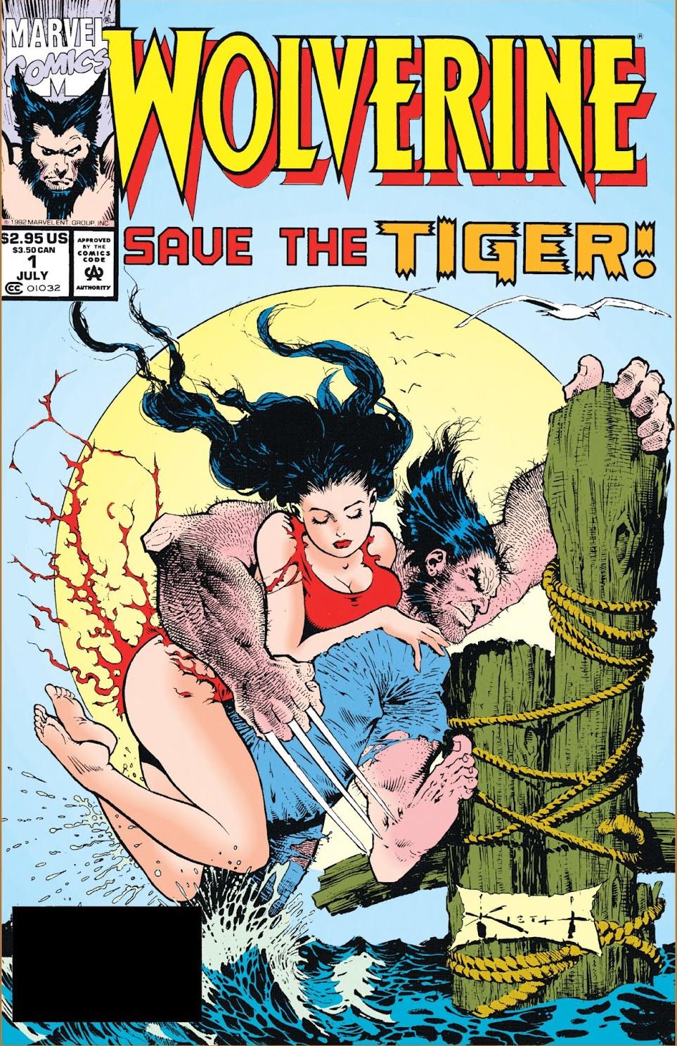 Wolverine Save the Tiger! Vol 1 1