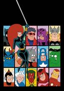 All-New, All-Different Avengers Vol 1 3 Hembeck Variant Textless