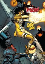 Selah Burke (Earth-616) from New Warriors Vol 5 2 001