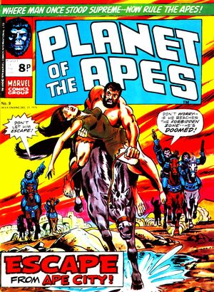 Planet of the Apes (UK) Vol 1 9