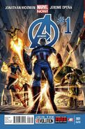 Avengers Vol 5 1 2nd Printing Variant