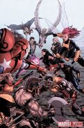 Dark Avengers Uncanny X-Men Exodus Vol 1 1 Textless Light Solicit