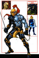 Raza Longknife (Earth-616) from Official Handbook of the Marvel Universe A-Z Update Vol 1 4 0001