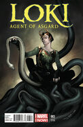 Loki Agent of Asgard Vol 1 3 Coipel Variant