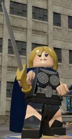 Brunnhilde (Earth-13122) from LEGO Marvel's Avengers 0001