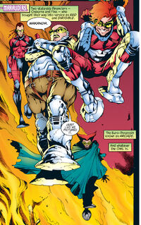 Marauders (Earth-295) from X-Universe Vol 1 1 0001