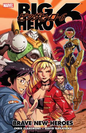 Big Hero 6 Brave New Heroes Vol 1 1