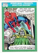 Spider-Man Presents Doctor Doom from Marvel Universe Cards Series I 0001