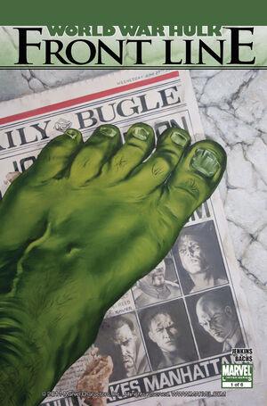 World War Hulk Front Line Vol 1 1