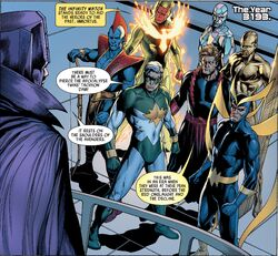 Immortus and the Infinity Watch from Uncanny Avengers Vol 1 16
